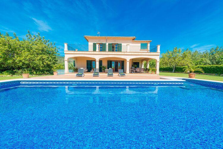 Vakantiehuizen Spanje | Mallorca | Vakantiehuis te huur in Binissalem-Illes-Balears met zwembad  met wifi 8 personen