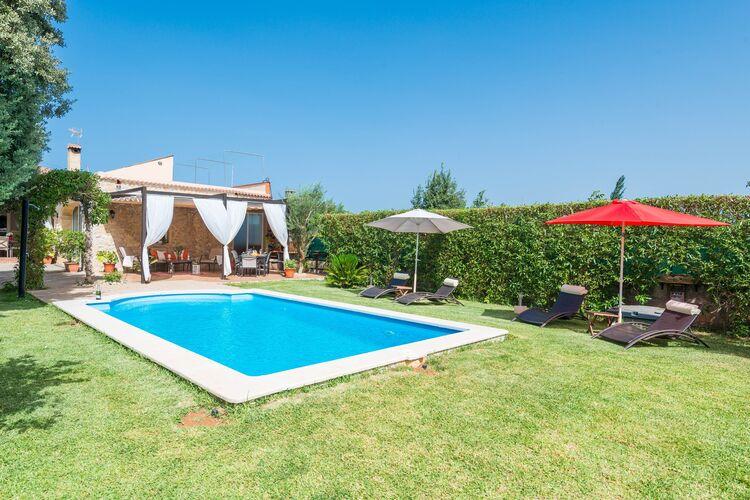 Vakantiehuizen Lloseta-Illes-Balears te huur Lloseta,-Illes-Balears- ES-00012-32 met zwembad  met wifi te huur
