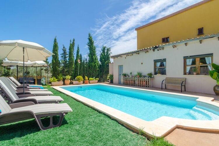 Vakantiehuizen Porto-Cristo-Illes-Balears te huur Porto-Cristo,-Illes-Balears- ES-00012-40 met zwembad  met wifi te huur