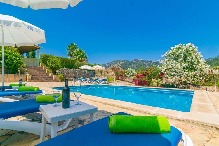 Vakantiehuizen Moscari-Illes-Balears te huur Moscari,-Illes-Balears- ES-00012-41 met zwembad  met wifi te huur