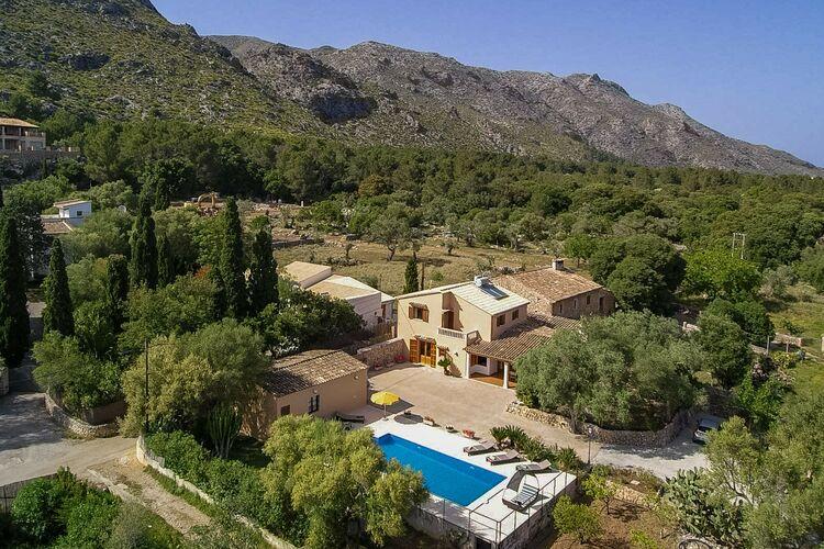 Villa Spanje, Mallorca, Pollensa, Illes Balears Villa ES-00012-42