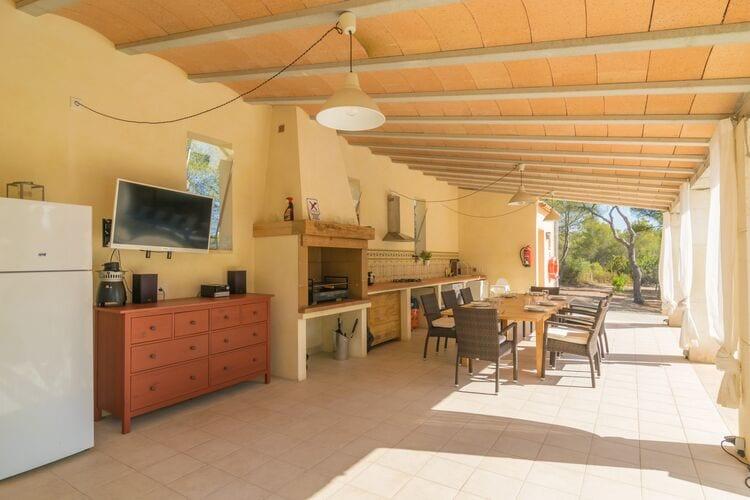 vakantiehuis Spanje, Mallorca, Portocolom, Illes Balears vakantiehuis ES-00012-52