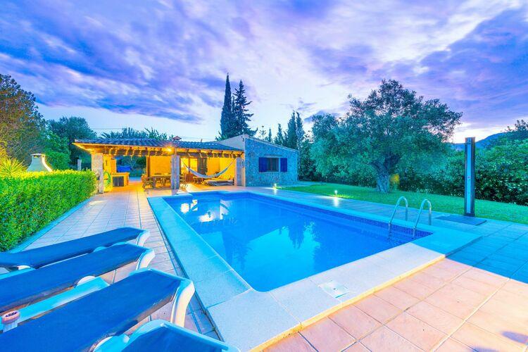 vakantiehuis Spanje, Mallorca, Campanet, Illes Balears vakantiehuis ES-00012-54