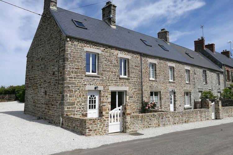 Frankrijk | Normandie | Vakantiehuis te huur in Saint-Remy-des-Landes   met wifi 8 personen