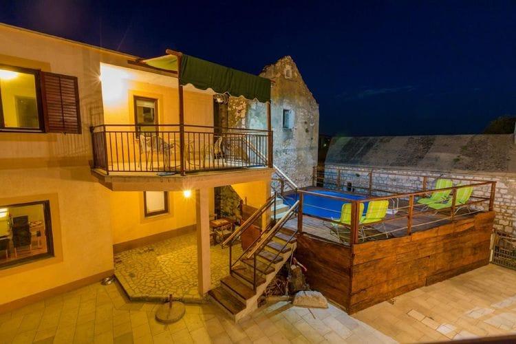 Vakantiehuizen Kroatie | Kvarner | Vakantiehuis te huur in Bribir met zwembad  met wifi 14 personen