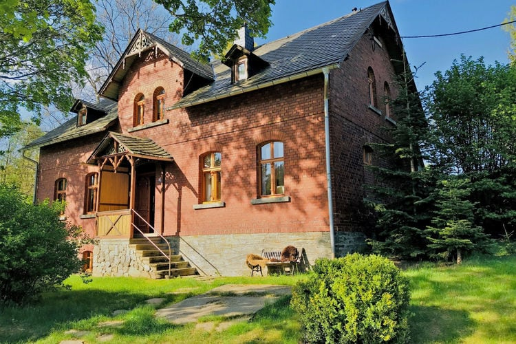 Vakantiewoning  met wifi  Bad Brambach  Uniek, historisch landhuis in het Saksische Vogtland, midden in de natuur