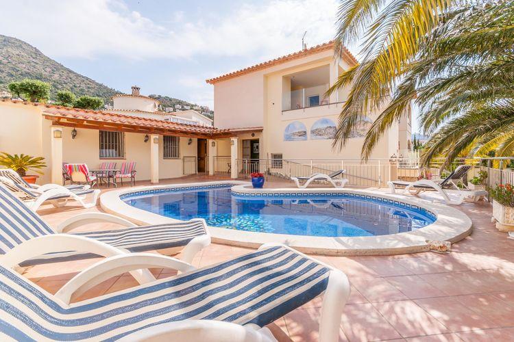 Villa met zwembad met wifi  RosesCasa de Castilla