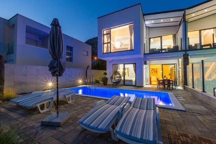 Vakantiehuizen Kroatie | Kvarner | Vakantiehuis te huur in Grizane met zwembad  met wifi 8 personen