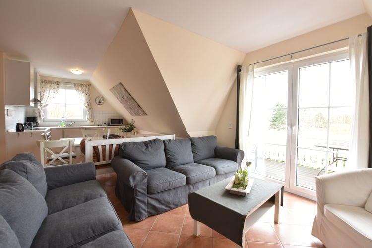 Vakantiehuizen Duitsland | Ostsee | Appartement te huur in Bastorf   met wifi 8 personen