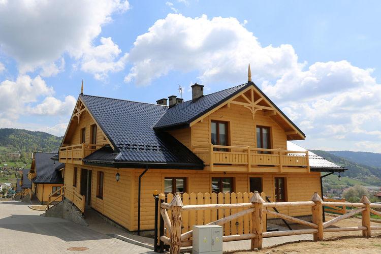 Polen Chalets te huur Luxe appartementen op twee niveaus met uitzicht op de bergen voor 6 personen.