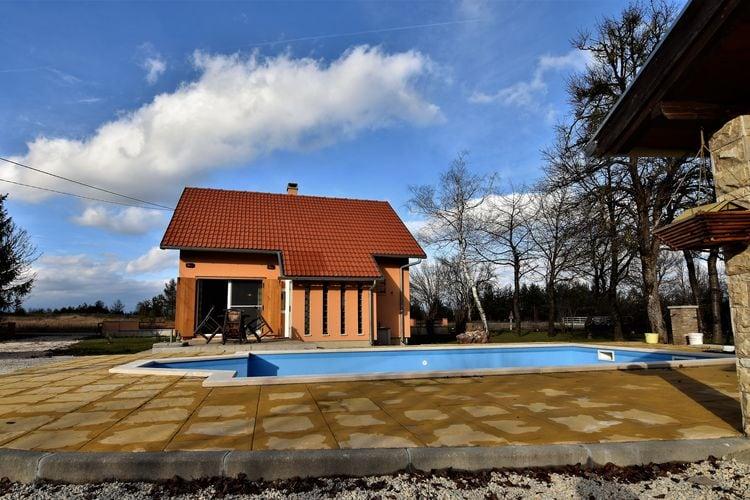 Kroatie | Dalmatie | Villa te huur in Gospi met zwembad  met wifi 6 personen
