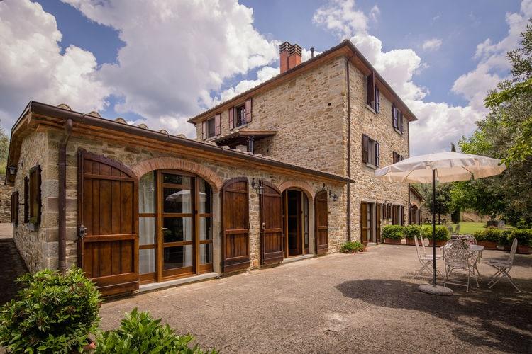 Vakantiehuizen Italie | Toscana | Villa te huur in Castiglion-Fiorentino met zwembad  met wifi 17 personen