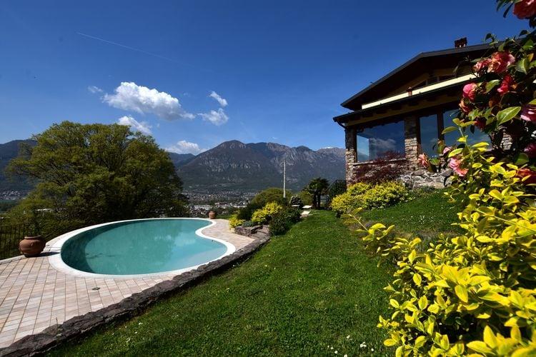 Vakantiehuizen Italie | Italiaanse-Meren | Appartement te huur in Pisogne met zwembad  met wifi 6 personen