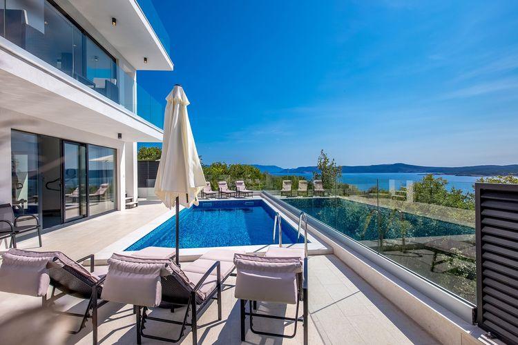 Villa Kroatië, Kvarner, Crikvenica Villa HR-00011-06