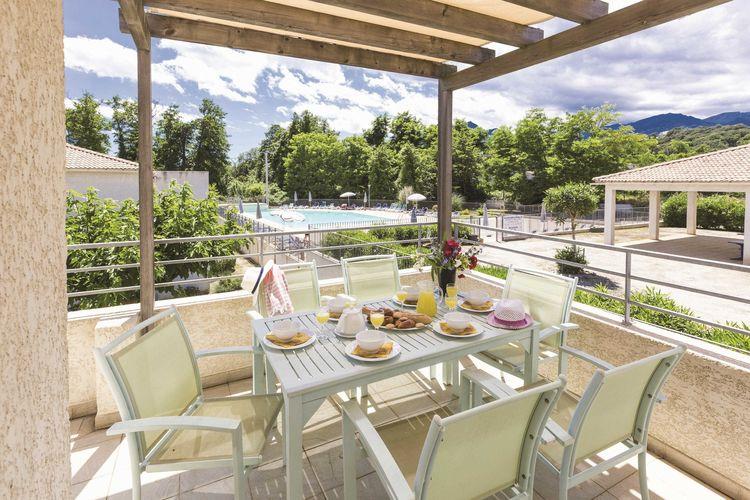 Vakantiehuizen Frankrijk | Corse | Vakantiehuis te huur in POGGIO-MEZZANA   met wifi 4 personen