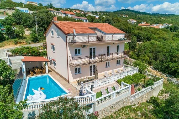 Vakantiehuizen Kroatie | Kvarner | Vakantiehuis te huur in Crikvenica met zwembad  met wifi 12 personen