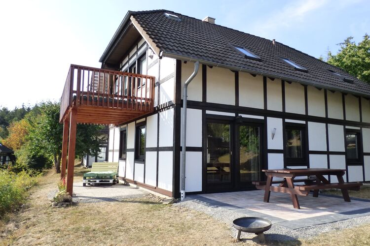 Vakantiehuizen Duitsland | Hessen | Appartement te huur in Frankenau   met wifi 4 personen