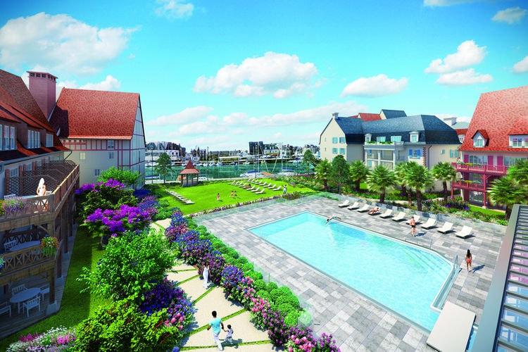 Appartementen Frankrijk | Normandie | Appartement te huur in Deauville   met wifi 6 personen