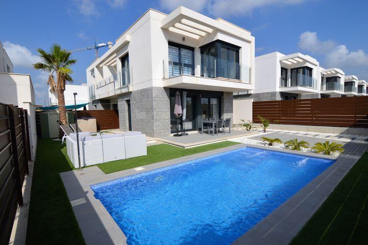 Villa met zwembad met wifi  OrihuelaVilla Lucael