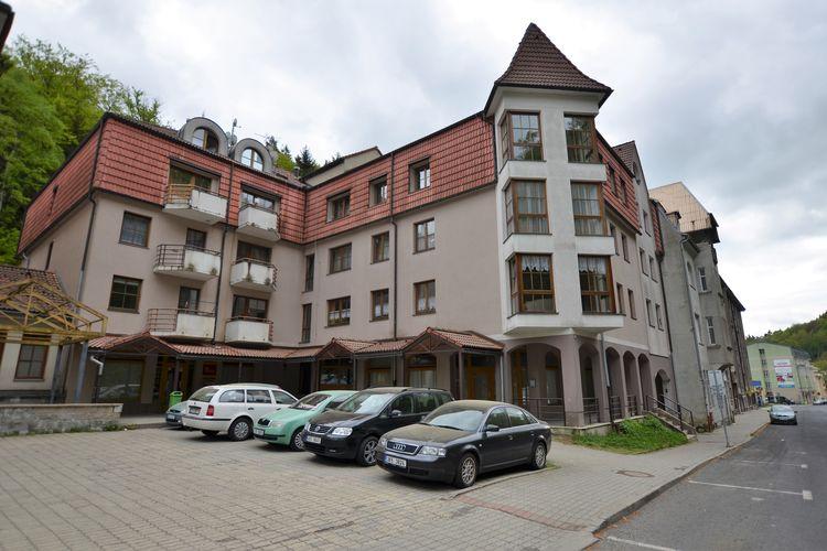 Tsjechie | West-Bohemen | Appartement te huur in Jachymov   met wifi 4 personen