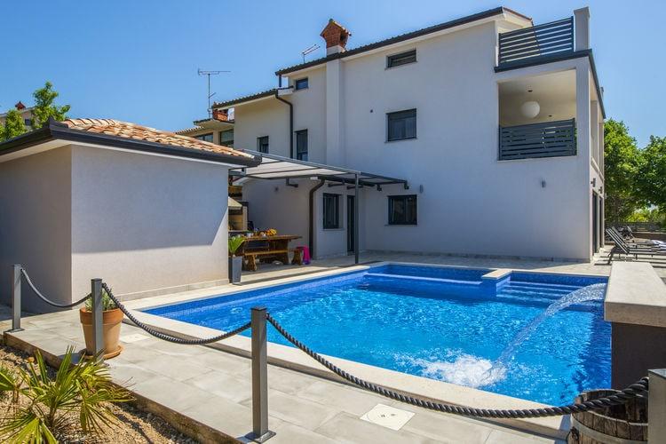Kroatie | Istrie | Villa te huur in Vikovii met zwembad  met wifi 9 personen