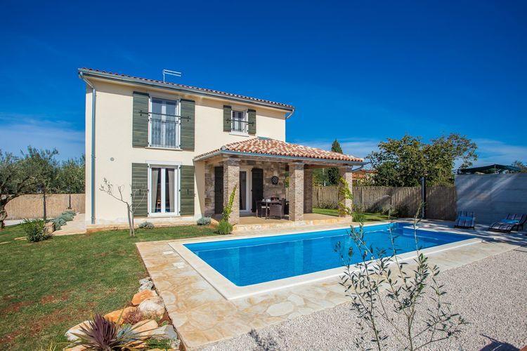 Novigrad Vakantiewoningen te huur Op 5 minuten rijden van Novigrad en het strand, met omheinde tuin en zwembad