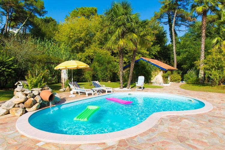 Vakantiehuizen Frankrijk | Cote-Atlantique | Villa te huur in Anglet met zwembad  met wifi 6 personen