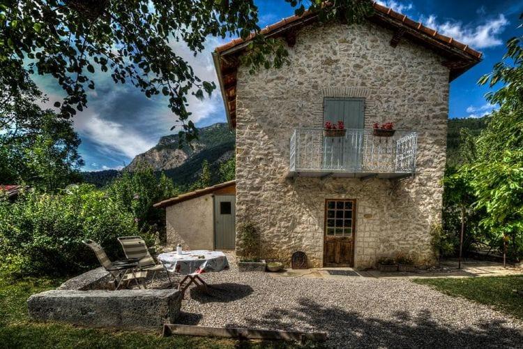Chatillon-en-Diois Vakantiewoningen te huur Drome Cabanon