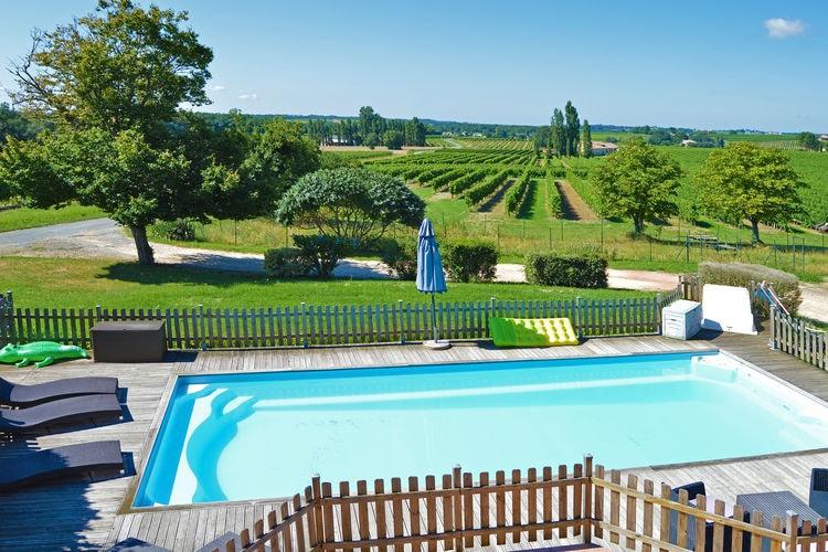 Vakantiehuis met zwembad met wifi  Cote AtlantiqueGîte avec piscine privée belles vues