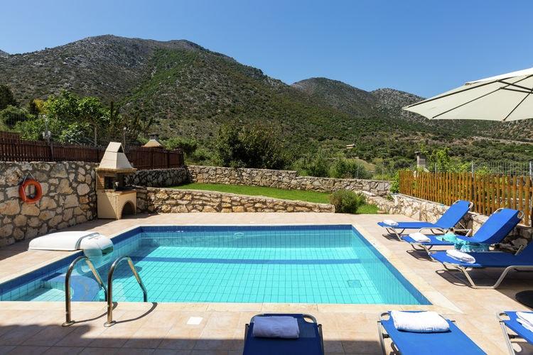 Vakantiehuizen Griekenland | Kreta | Villa te huur in Bali met zwembad  met wifi 28 personen