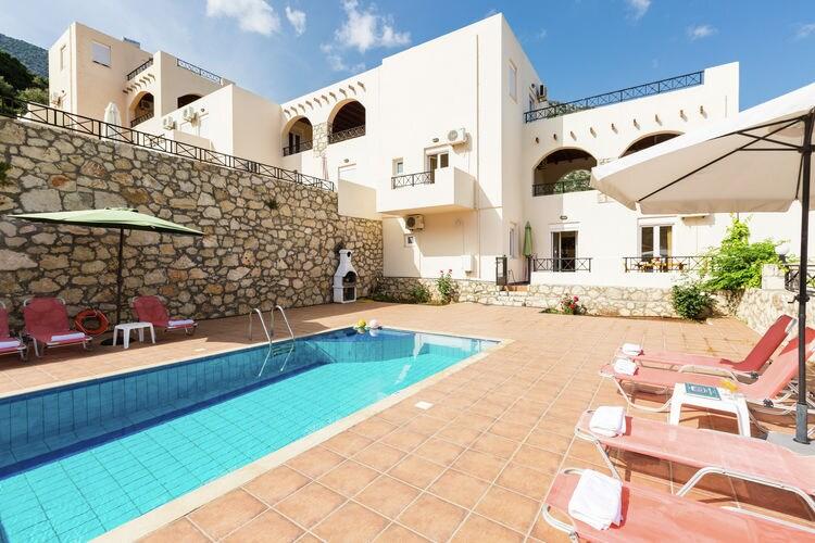 Griekenland | Kreta | Villa te huur in Bali met zwembad  met wifi 28 personen