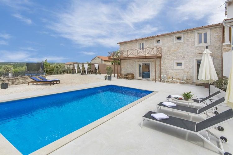 Villa Kroatië, Istrie, Sveti Lovrec Villa HR-52448-52