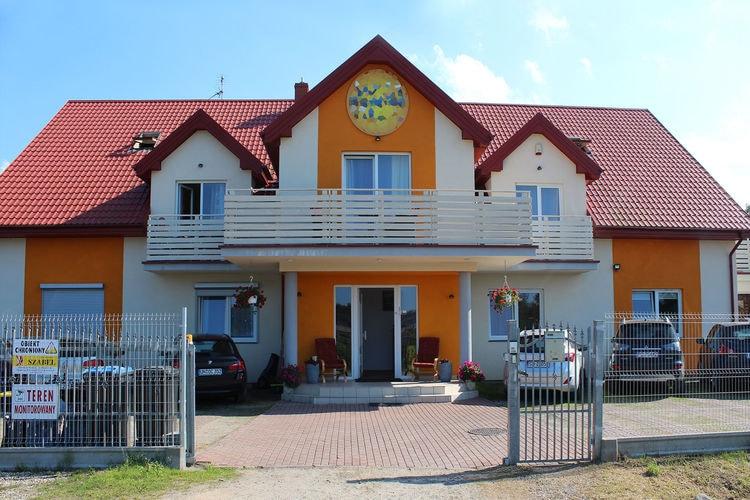 met je hond naar dit vakantiehuis in Grzybowo
