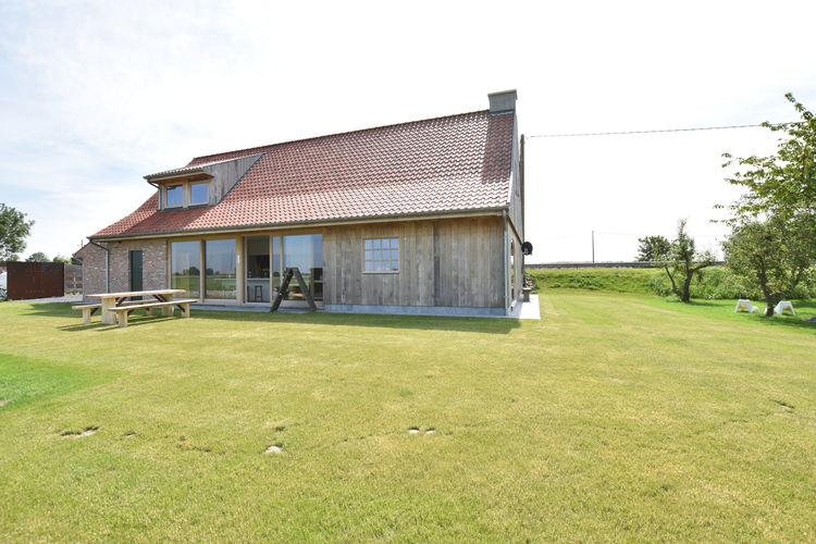 Diksmuide Vakantiewoningen te huur Luxe villa met ieder eigen badkamer gelegen aan de Ijzer en vlakbij Diksmuide