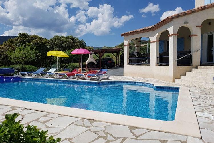 Villa met zwembad met wifi  Felines-MinervoisCristal de Roche