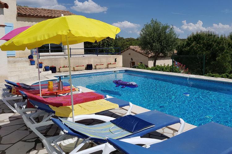 Frankrijk | Languedoc-roussillon | Villa te huur in Felines-Minervois met zwembad  met wifi 10 personen