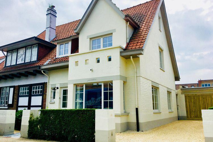 DE-HAAN Vakantiewoningen te huur Gerenoveerde villa dichtbij het strand en centrum van De Haan