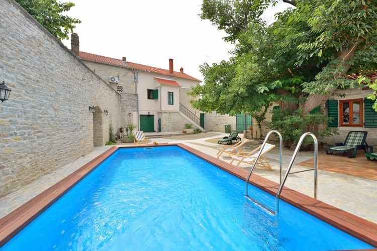 vakantiehuis Kroatië, Dalmatie, Smilcic vakantiehuis HR-00011-93
