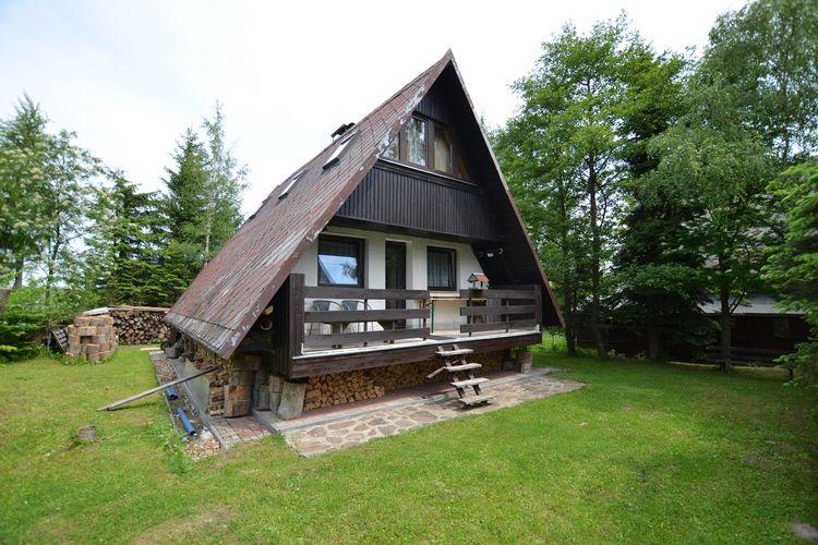 Tsjechie | West-Bohemen | Chalet te huur in Louna-pod-Klinovcem   met wifi 6 personen