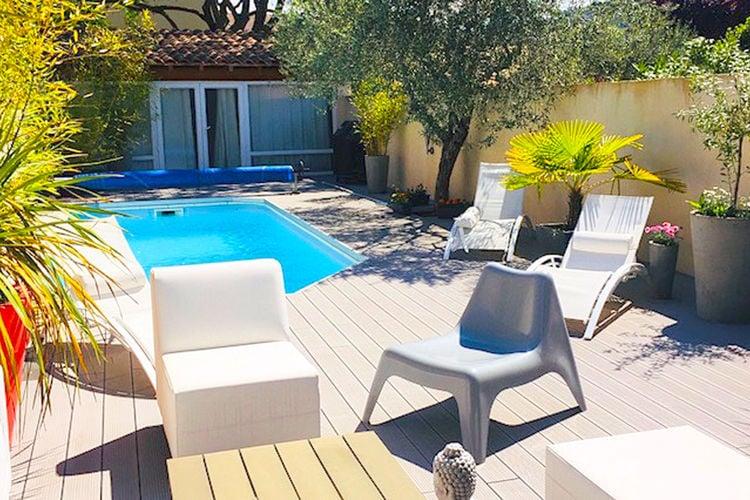 Vakantiehuis met zwembad met wifi  OraisonMaison Stéphanie