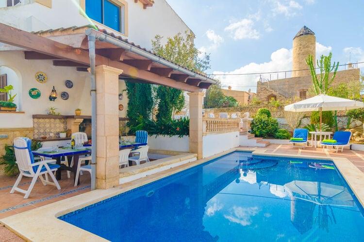 Vakantiehuizen Colonia-De-San-Pere-Illes-Balears te huur Colònia-De-San-Pere,-Illes-Balears- ES-00015-28 met zwembad   te huur