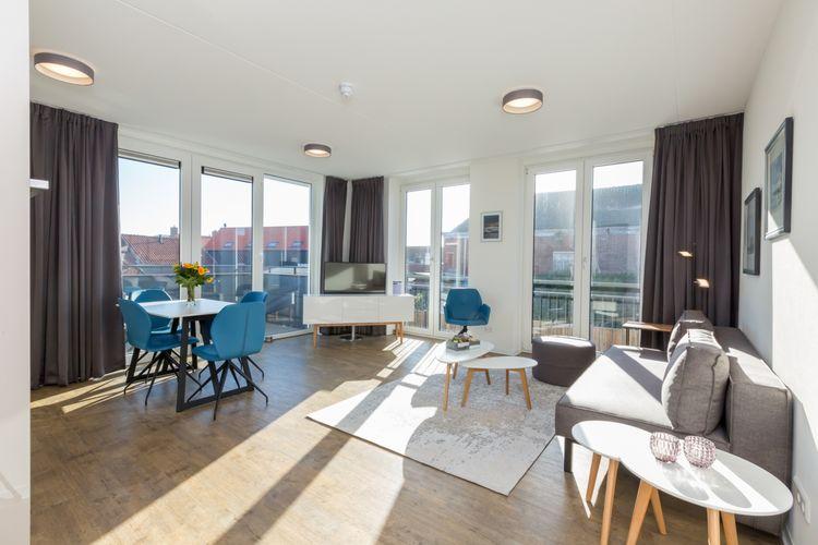 Appartementen Nederland | Zeeland | Appartement te huur in Zoutelande   met wifi 2 personen