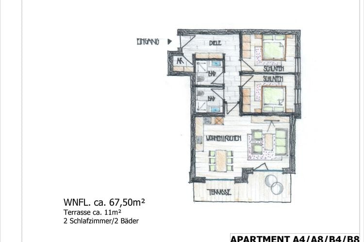 Ref: AT-5721-138 2 Bedrooms Price