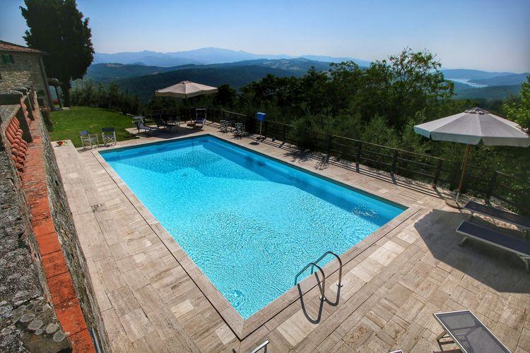 Vakantiehuizen Italie | Toscana | Boerderij te huur in Caprese-Michelangelo met zwembad  met wifi 2 personen