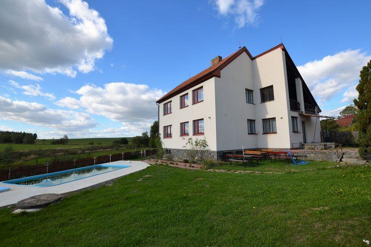 Villas Tsjechie | Zuid-Bohemen- | Villa te huur in Skrchov-u-Malic met zwembad  met wifi 18 personen