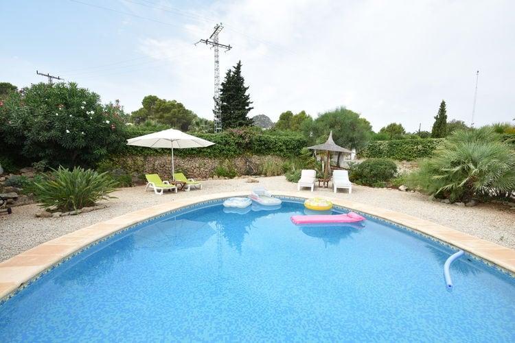 Villa met zwembad met wifi  PedreguerFinca Lynn