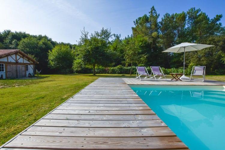 Vakantiehuis met zwembad met wifi  Cote AtlantiqueCocooning et détente - Landes