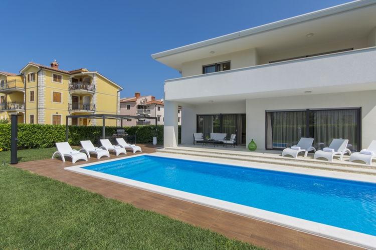 Villa Kroatië, Istrie, Porec Villa HR-52440-243
