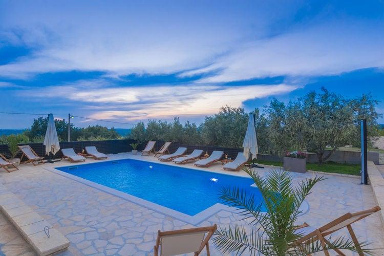 Villa Kroatië, Dalmatie, Lisicic Villa HR-23420-03