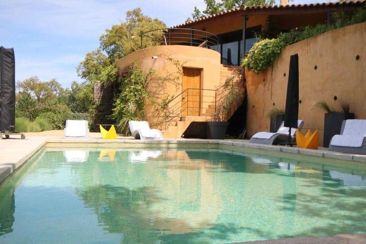 Villa huren in La-Garde-Freinet - met zwembad  met wifi met zwembad voor 6 personen  Prachtige vakantievilla met privé..
